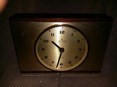 Junghans German vintage clock art deco  /  battery operated