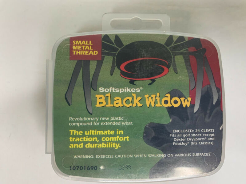 BLACK WIDOW soft spikes 24 count new Sealed