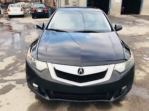 Acura TSX 2009 luxury package with navigation & rear camera