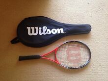 Wilson tennis racket Port Macquarie 2444 Port Macquarie City Preview