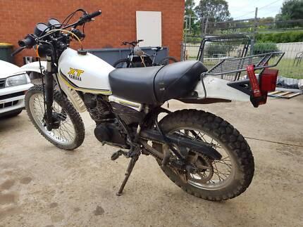 1990 Yamaha XT250