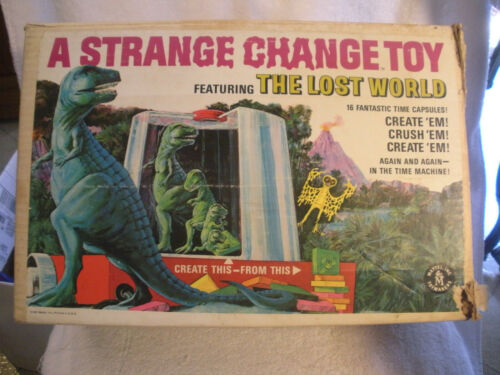 Vintage 1967 Mattel A Strange Change Toy Featuring The Lost World in Box WORKS!!