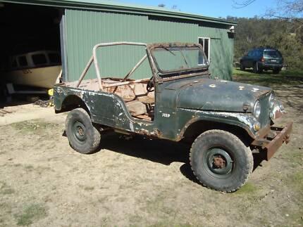 1964 Willys Jeep CJ6 Scott Creek Adelaide Hills Preview