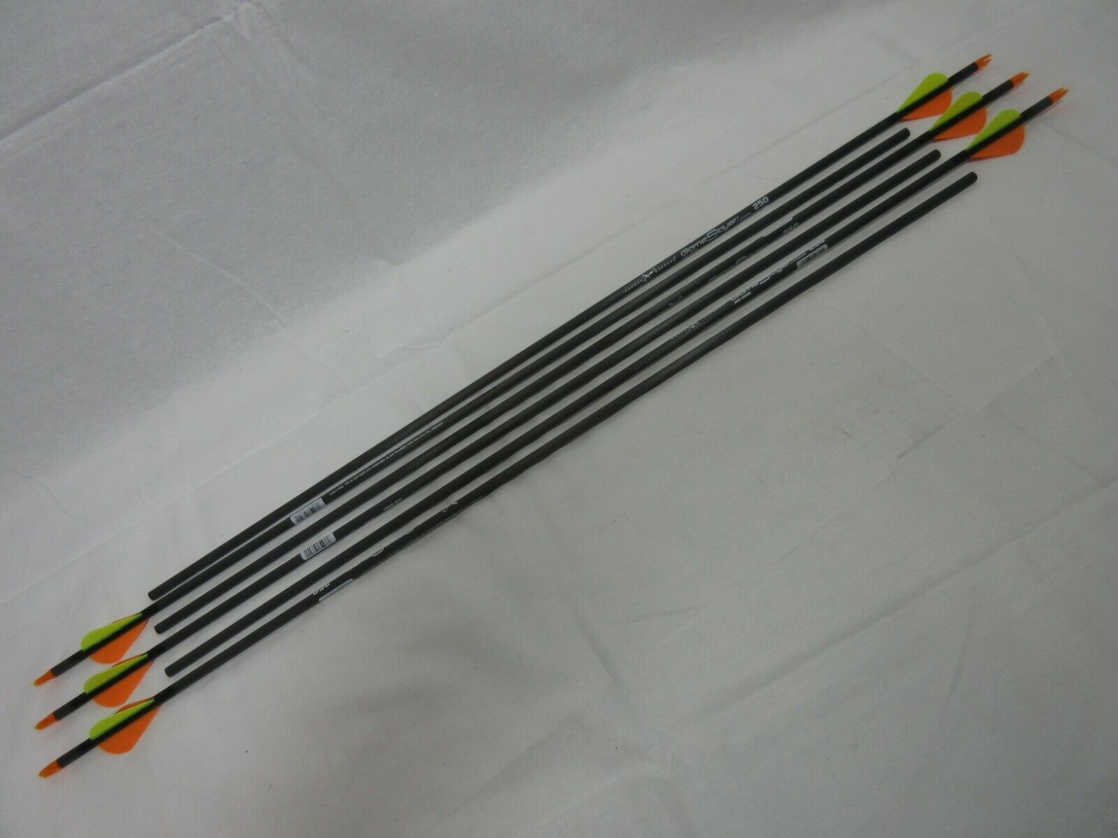 6 pack game slayer carbon arrows w