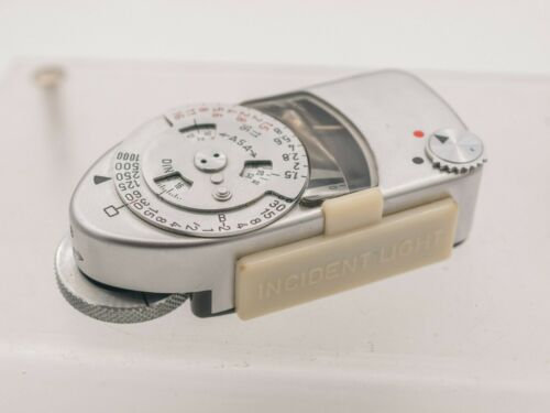 Leica Meter MC Shoe Mount Selenium Metrawatt Rangefinder Camera Light Meter