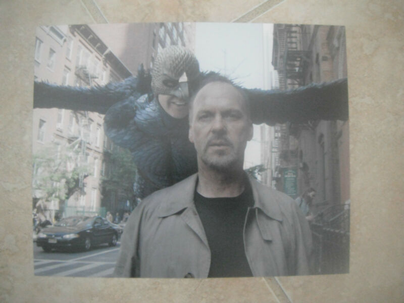 Birdman Michael Keaton Color 8x10 Picture Photo Sexy Hollywood #2