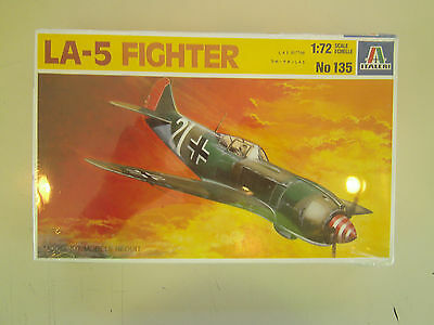 1/72 scale  Italeri Models    WWII Russian LA-5 Fighter