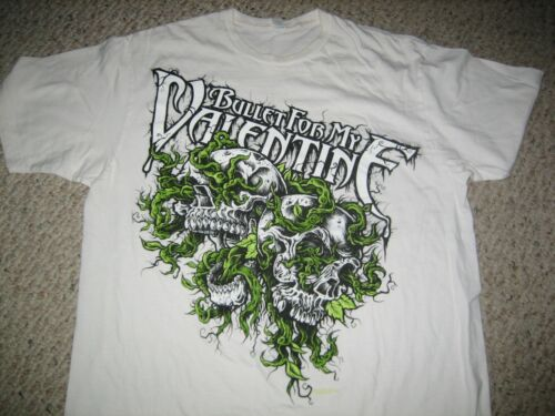 BULLET FOR MY VALENTINE  rock shirt    (white color)  (Large)