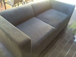 Navy 3 seater couch Kew Boroondara Area Preview