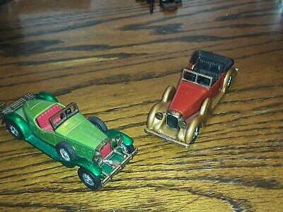 1974 MATCHBOX LESNEY MODELS OF YESTERYEAR NO. Y-11 & Y-14 Nice Lot