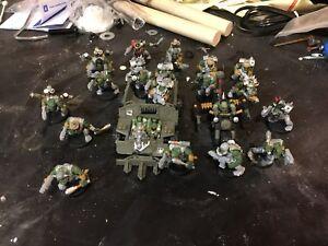 Warhammer 40k - space marines, orcs, dark elves