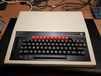 RARE VINTAGE ACORN BBC MODEL B MICRO COMPUTER w TURBO SPI (VGC)