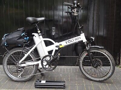 VOLT METRO Electric Folding Bike With Spare Battery