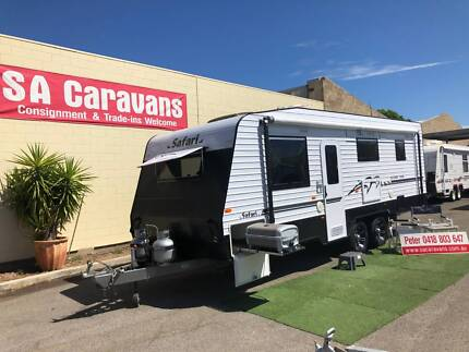 2015 SAFARI SLIDER 236 with SLIDE-OUT LOUNGE and LARGE ENSUITE Klemzig Port Adelaide Area Preview