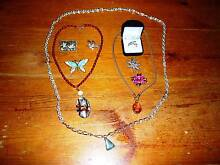 Costume jewellery 3 necklaces and six other pieces Five Dock Canada Bay Area Preview