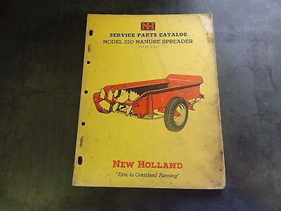 New Holland 210 Manure Spreader Service Parts Catalog  4-63