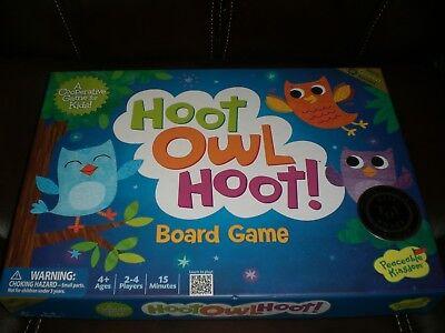 Peaceable Kingdom Hoot Owl Hoot! Board Game Best Toy Award 100%