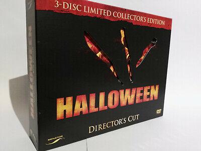 Halloween 3 New Edit (Halloween , 3 Discs Special Edition Box Set , Director's Cut , new , Rob)