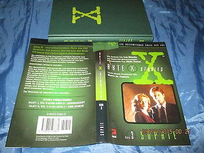 AKTE  X  , Stories  # 3 ,  Die unheimlichen Fälle des FBI , 8. Auflage 1996