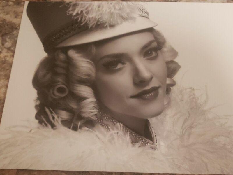 Mank B&W photo Amanda Seyfried as Marion Davies in Majorette Hat