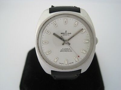Breitling Vintage 1960's Stainless Steel Manual Wind Watch