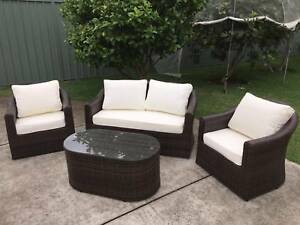 AMAZING 4 Seater Outdoor Furniture Set w Coffee Table BRAND NEW Roselands Canterbury Area Preview