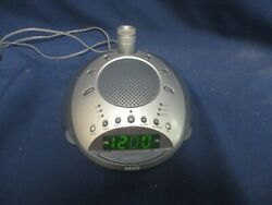 Homedics SoundSpa Alarm Clock Radio, Nature Sounds, Time Projection, SS-4000