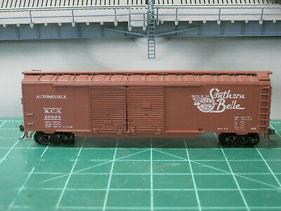 Kansas City Southern 50  Double Door Boxcar Kd S Ho Athearn Rd  20895 Blt 11 41