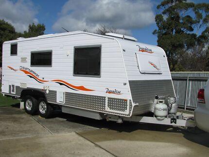 21ft Paradise Dreamseeker Caravan