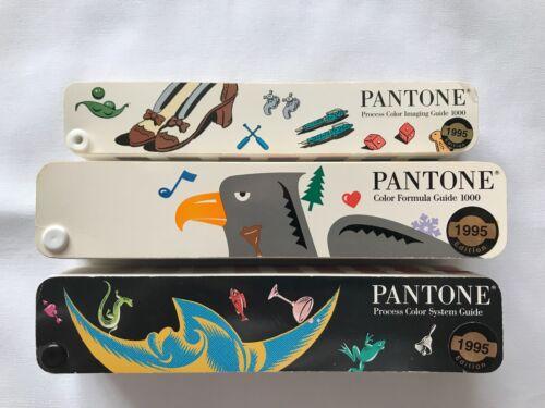 Pantone Color Guides - Set of 3 Books - Process Imaging, Formula, System (1995)