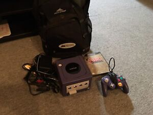 Console game cube + zelda windmaker