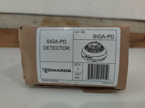 New Edwards EST SIGA-PD Intelligent Photoelectric Optical Smoke Detector