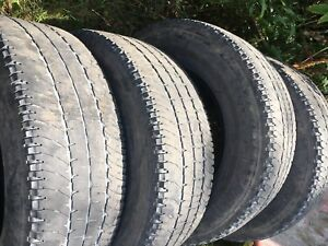 Set of 4 Michelin Tires 275 70R 18