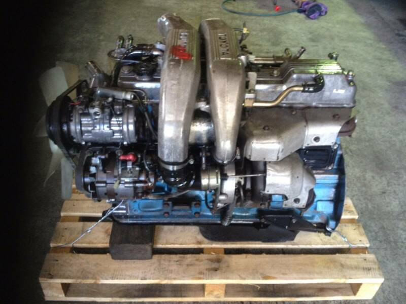 TOYOTA 12HT FACTORY TURBO ENGINE | Engine, Engine Parts