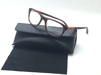 Eyeglasses Guess Havana Orange Plastic GU 1866 GU1866 052 55MM