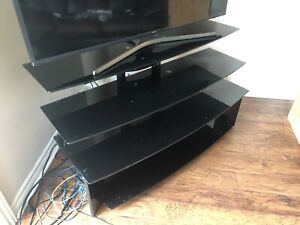 Glass Tv Stand / 4 levels