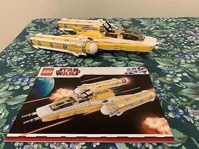Lego Star Wars The Clone Wars Anakin's Y-wing Starfighter (8037) READ DESC.