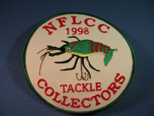 NFLCC - NATIONAL FISHING LURE COLLECTORS  PATCH  1998    #2