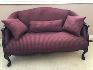 Sofa chair-two seater wooden