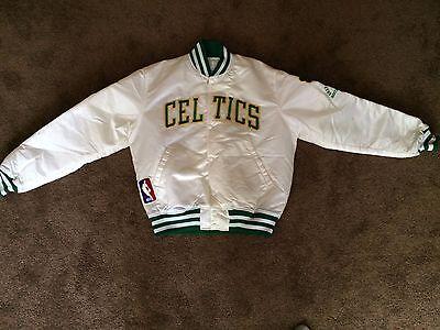 RARE Vintage Grateful Dead Boston Celtics Starter Jacket Gardens 1991 STAFF Tour