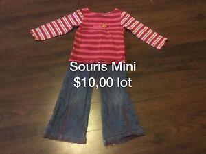 Vêtements enfant 3 ans souris Mini, blü, Mexx etc ...