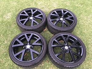 20 INCH HSV VE GTS WHEELS PRE VE DRILLED Deniliquin Murray Area Preview