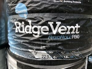 5 unopened rolls Rigid Roll ridge vent R90