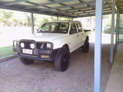 1998 Mitsubishi 4w/d Triton Ute Gympie Gympie Area Preview