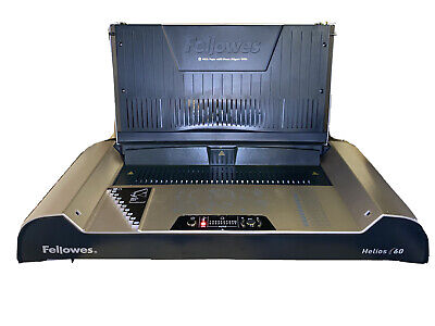 Fellowes Helios 60 Thermal Binding Machine In Good Working Condition.