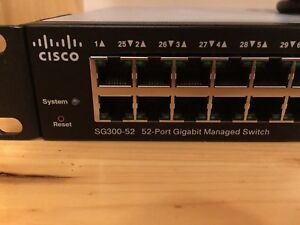 Cisco 52-Port Gigabit Managed Network Switch