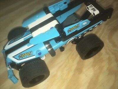 Lego Technic 42059 Monster Truck Pull Back Car Racing Complete No Box Truck Only