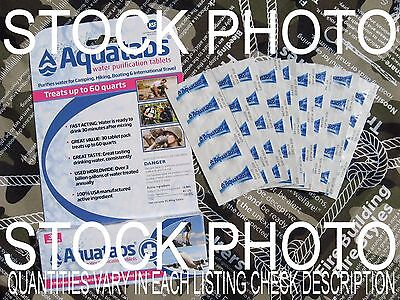 Aquatabs Water Purification Tablets Survival First Emergency Water Be Ready Now