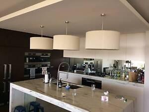 3 High end ceiling drum lights Mosman Mosman Area Preview
