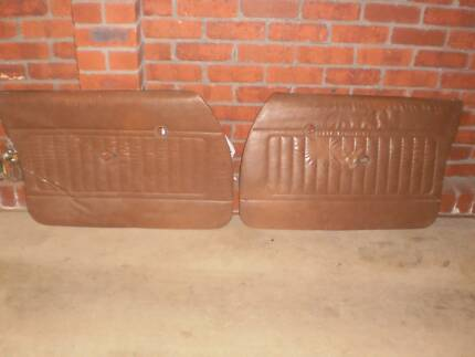 holden hq hj hx hz wb door trims brown black front ute van tonner Berwick Casey Area Preview